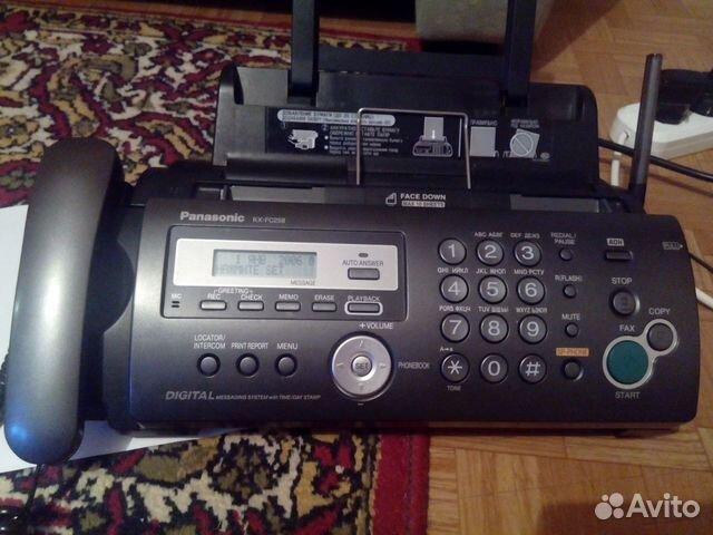 Телефон факс Panasonic kx-