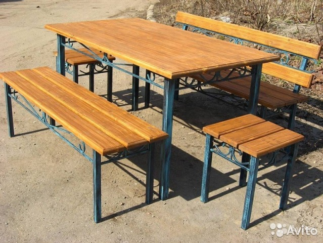 Сделать стол из металла
