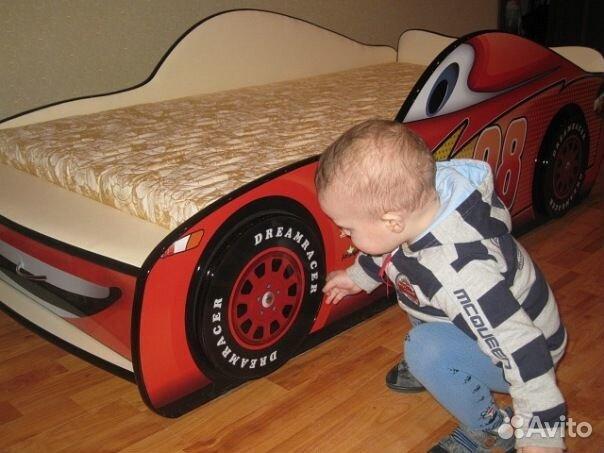 Кровать машина Молния макквин купить в Мурманской области на Avito ...