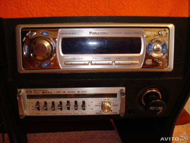Panasonic CQ-C5400N CD/MP3/WMA