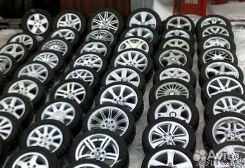 Подержанные литые диски на дроме в городе новоалтайске