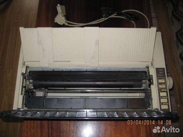 Epson FX-1000 + запасные картр