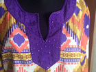 Блуза туника в этностиле 48 размера