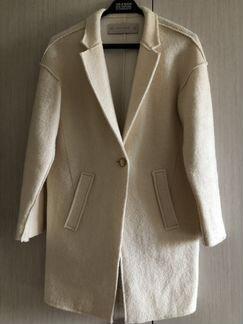 Пальто Zara, белое