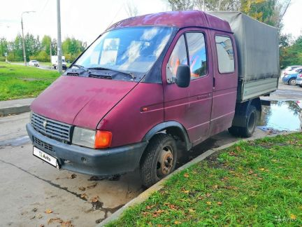 ГАЗ ГАЗель 33023 2.3МТ, 1998, пикап объявление продам