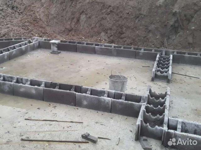 Несъемная опалубка для фундамента из бетона купить r0 для бетона