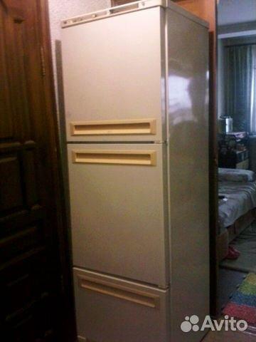 Продам 3 х камерный холодильник б у