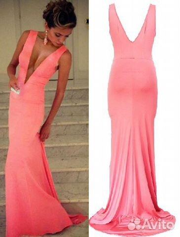 Купить на авито длинное платье
