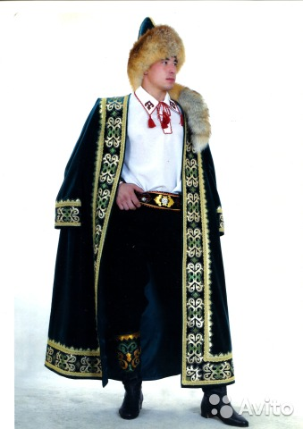 башкирский национальный костюм для детей картинки