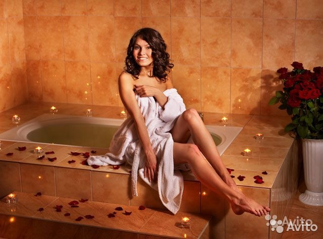 красивые фото женщины в ванной