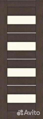 Межкомнатная дверь эко-шпон Т-7Цаво