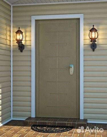 стальные двери установка улица дом