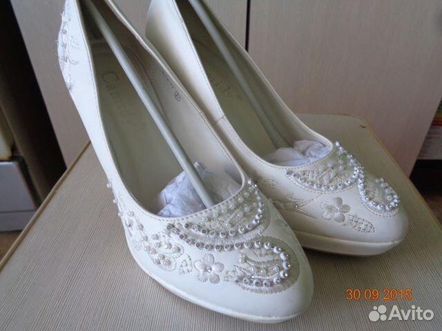 Туфли свадебные 89053304356 купить 1