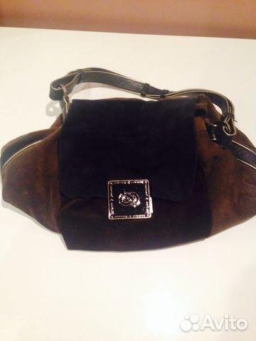 Замшевые женские сумки Furla купить в Москве Купить