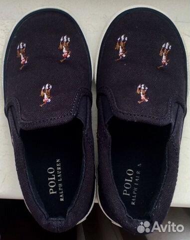 d55ffc677143 Кеды-слипоны Polo Ralph Lauren (оригинал) купить в Москве на Avito ...