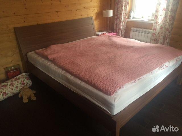 Икеа кровати двуспальные с матрасом