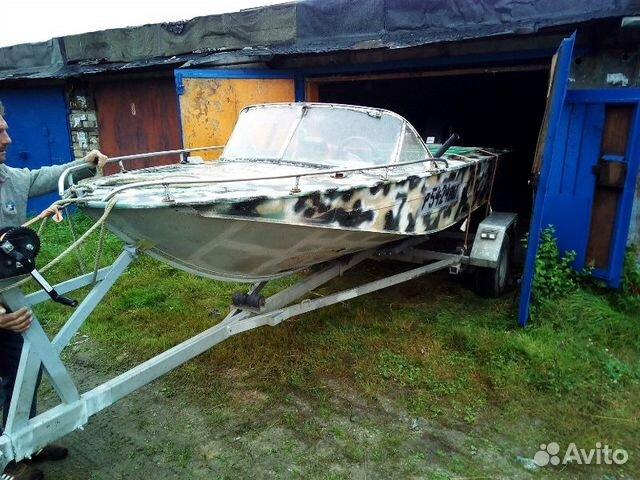 продажа лодок бу на авито по вологодской области