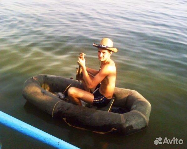 лодка рыболовная пвх морской ястреб одноместная