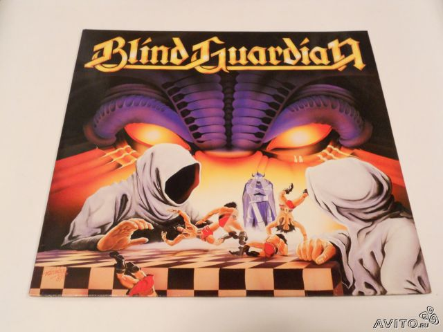 "Blind Guardian ""Battalions of fear"" LP 1988— фотография №1"