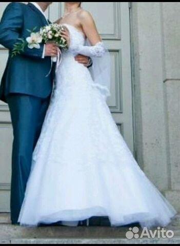 Свадебное платье авито саратов