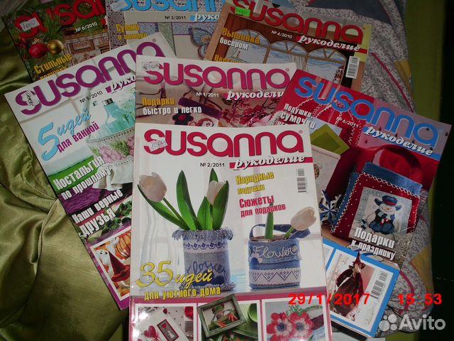 Журналы по вышивке где купить