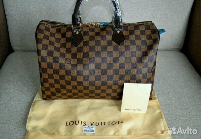 Сумка Louis Vuitton Speedy купить в Санкт-Петербурге на