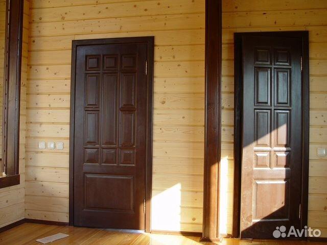 производство и услуги по установке входных дверей срубов
