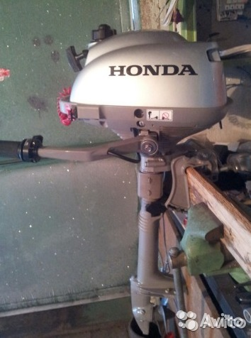мотор лодочный хонда в казахстане
