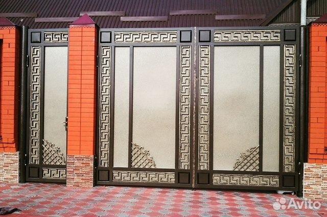 железные двери ворота производство