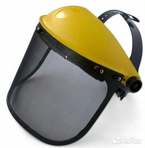 Защитная маска для кошения травы