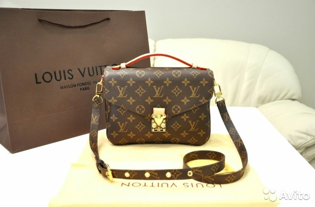 9a1135590f9e Сумка Клатч Metis Pochette Louis Vuitton Луи Витон купить в Москве ...