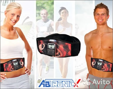 Пояс для похудения миостимулятор Аб Троник Х2 Ab Tronic