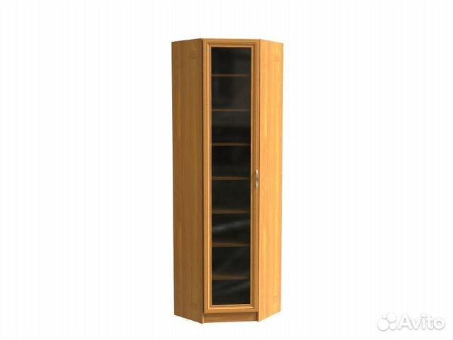 1317 библиотека угловой шкаф со стеклом шк 1/6 купить в ниже.