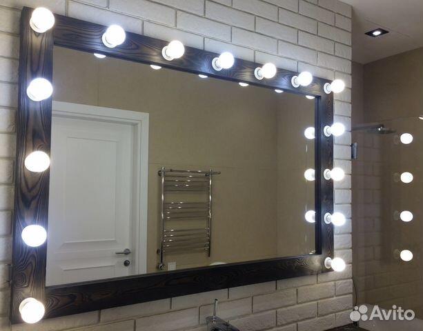 a06a0ba81986 Зеркало в Ванную комнату с подсветкой купить в Москве на Avito ...