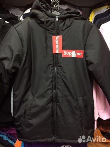 Куртка зимняя Supreme Ripndip новая.Черная купить в Санкт-Петербурге ... 0318dc3e2bb