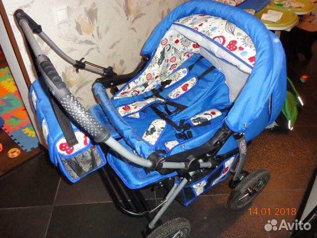 Санта круз коляска для двойни