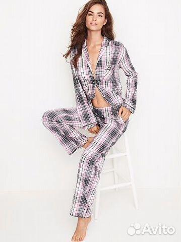 Пижама Виктория Сикрет Victoria s Secret фланелива  542ca9110cd8d