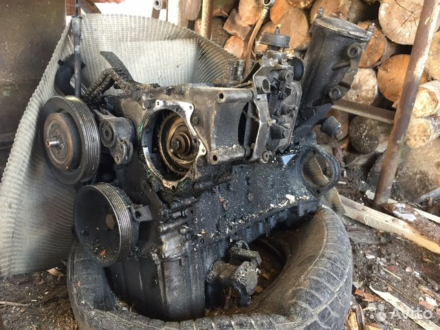 Двигатель мерседес на запчасти 89611175482 купить 1