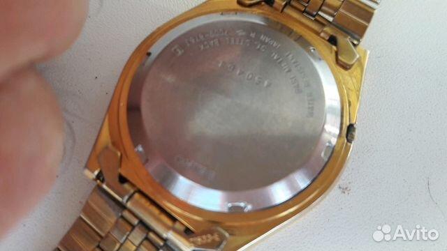 Мужские позолоченные наручные часы Seiko 5 89283211593 купить 2
