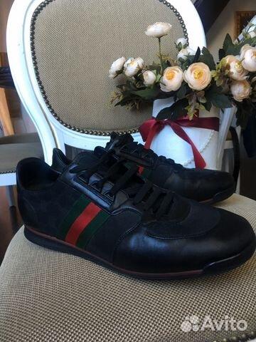 164ee8c842e2 Gucci кеды кроссовки оригинал 10.5 размер купить в Калининградской ...