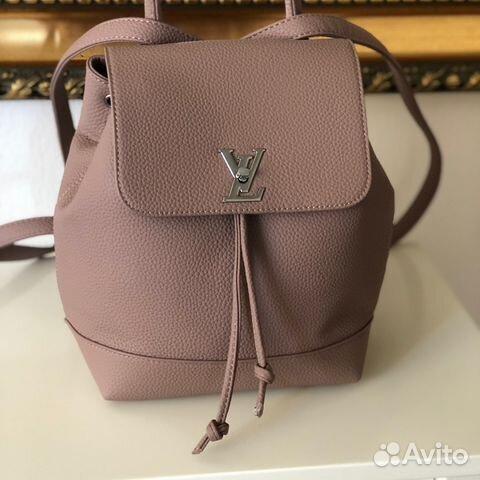 Бесплатная Доставка Рюкзак Louis Vuitton пудра купить в Москве на ... 9fb0d547fb6