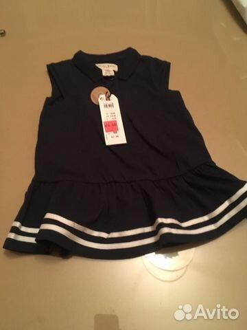 d04fffc9c03 Платье морское для девочки 68 р-р из Финляндии купить в Санкт ...