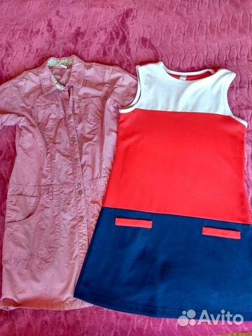 Платья пакетом 146-152 89022599536 купить 1