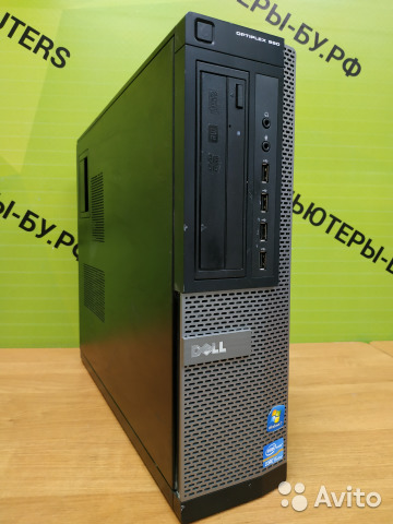 Шустрый Core i5 Dell optiplex 990 SSF