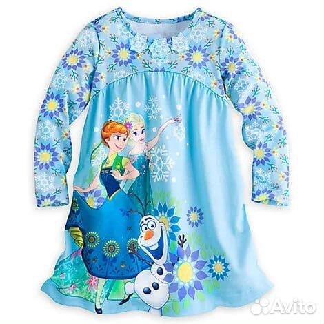 dd1414ed8e51 Ночнушка пижама Disney store Эльза купить в Москве на Avito ...