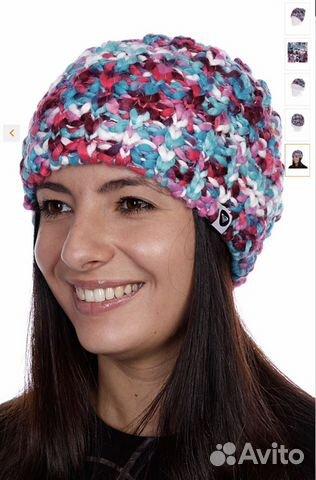 шапка вязаная женская Roxy Daybreak Sea Spray Festimaru