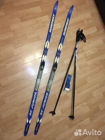 Комплект беговые лыжи и ботинки купить в Москве на Avito ... 78753867076