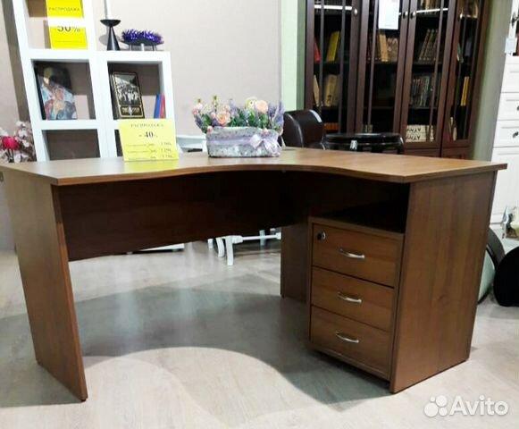 стол письменный угловой с тумбой купить в санкт петербурге на Avito