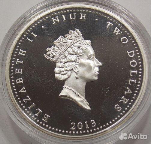 2 доллара 2013 Ниуэ.Набор монет (3 шт.) 89617538239 купить 7