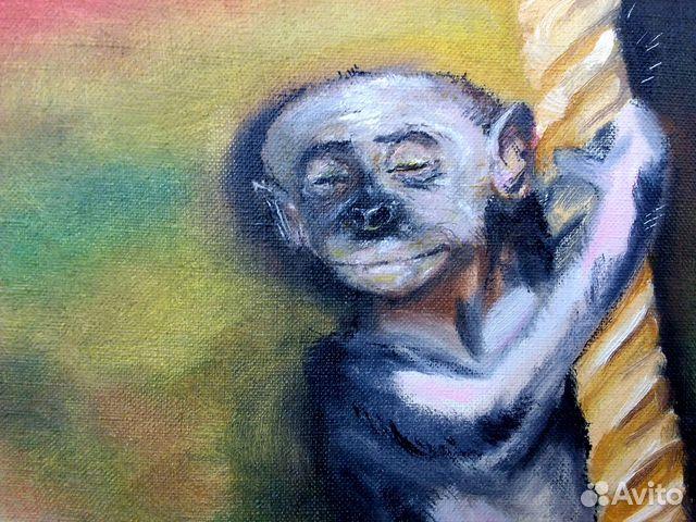 картина мудрая обезьяна